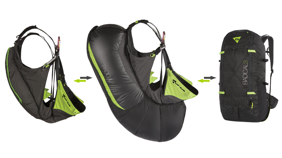 Supair Radical 3 Airbag
